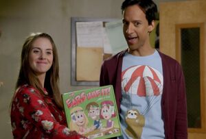 Annie and Abed introduce The Ears Have It