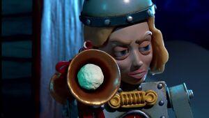 S02E11-Britta Bot firing snowballs