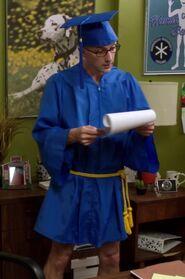 Dean Pelton graduation robe