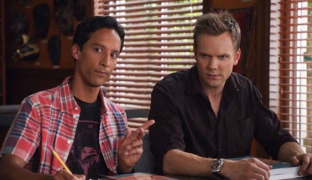 Jeff and Abed 2x1