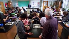 Biology classroom