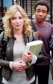 Troy and Britta