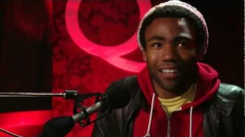 Comedic Triple-Threat Donald Glover in Studio Q