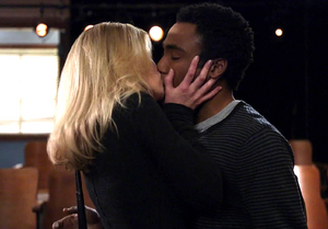 Britta kiss troy