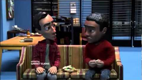 Troy and Abed in Stopmotion