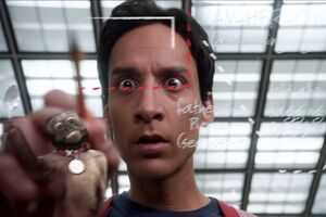 Abed connects the dots