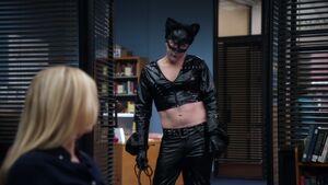 2X22 Dean as Catwoman