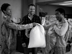3x14-Abed Jeff Troy friends again