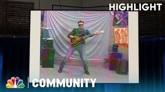 Jeff's Audition For MTV - Community (Episode Highlight)