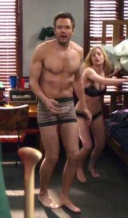 Jeff's underwear Abed's dorm