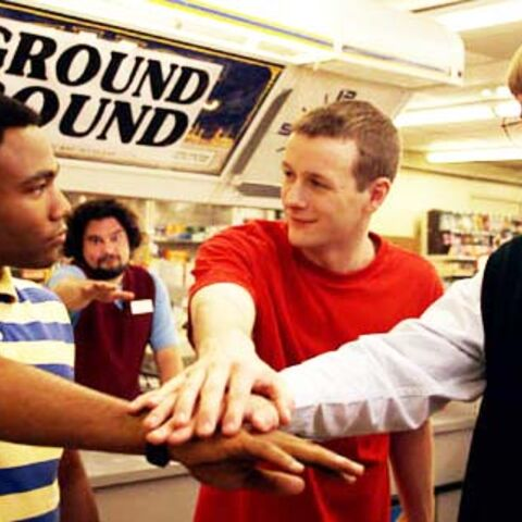 Donald Glover, Dominic Dierkes, and D.C. Pierson in