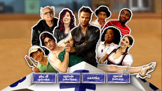 Season Four DVD menu