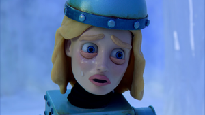 Britta bot crying