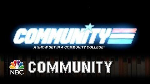 Community - G.I. Joe Opening Title Sequence (Episode Highlight)