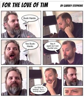Tim and Dan comic strip