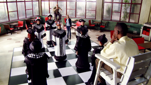 CA Game of human chess