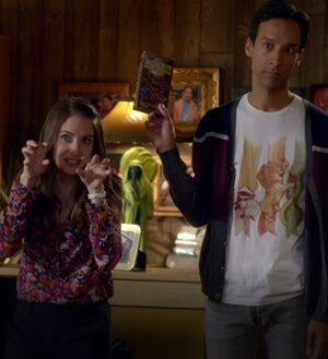 S06E02-Abed and Annie Gremlins