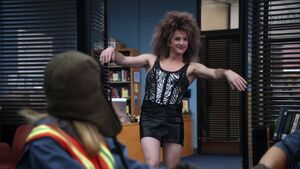 2X22 Dean as Tina Turner