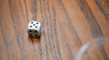 Five dice pips