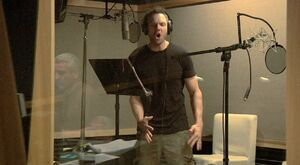 Joel McHale voicing Wingman
