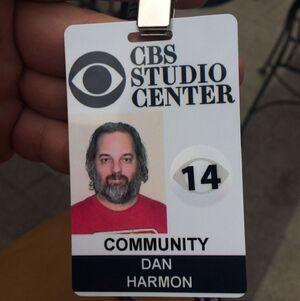 Harmon CBS badge