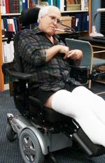 Pierces wheelchair
