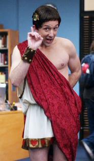 Dean as Ceasar
