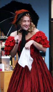 Dean as Scarlett
