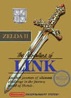 Zelda ii the adventure of link cover front 2