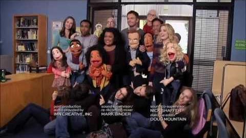 "Community Puppets end credits ""Intro to Felt Surrogacy"""