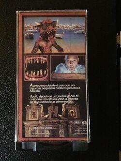 Joelho-Alto Prejuizo Moral VHS cover back