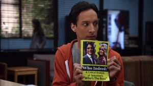2x20-Abed Who Indeed