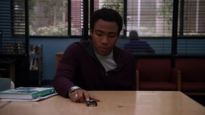 Troy's voicemail to Abed