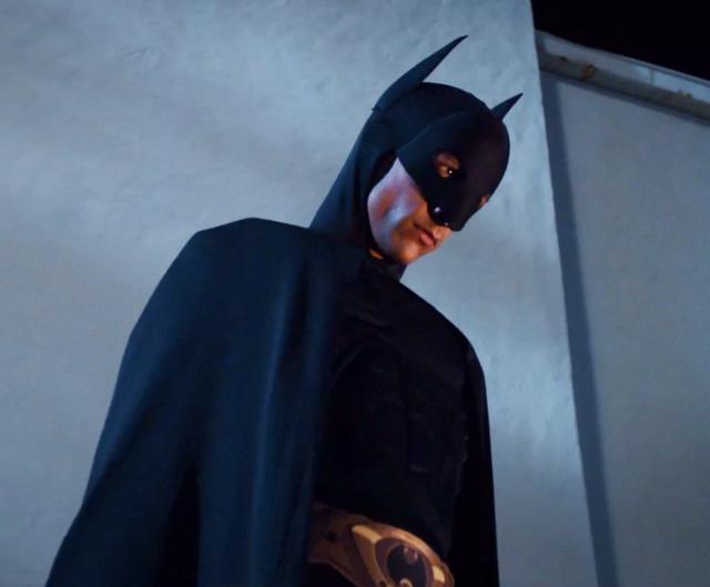 Abed as Batman