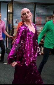 Dean Pelton as Diana Ross