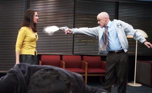 CTAID Dean Pelton shoots Annie