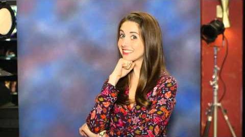Yahoo Season Six Community character photoshoot - Annie Edison