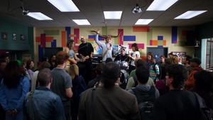 Vaughn's band