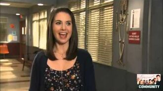 Community 3.05 - Behind the Scenes with Alison Brie