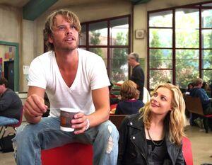 Britta and Vaughn