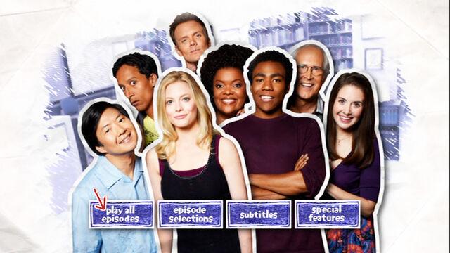 Season Two DVD menu screen