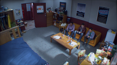 Abed's dorm room