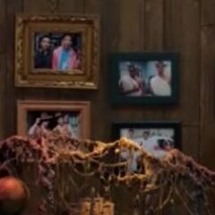 Pictures on Troy and Abed's Wall
