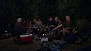 2X21 Camping trip argument