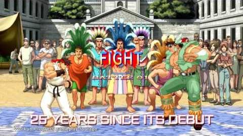 Ultra Street Fighter II Announce Trailer