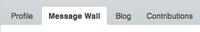 Wall tab