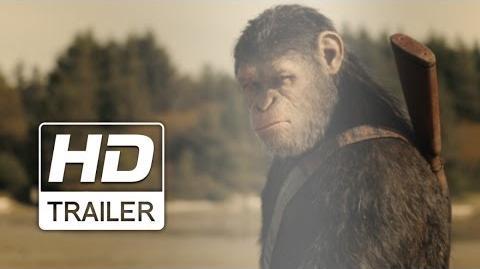 Planeta dos Macacos A Guerra Trailer Oficial Legendado HD