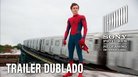 Homem-Aranha De Volta ao Lar Trailer Dublado 6 de julho nos cinemas