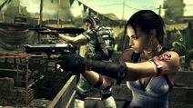 Resident Evil 5 - Chris and Sheeva copy