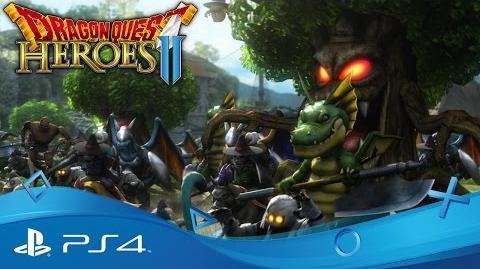 Dragon Quest Heroes II Announcement Trailer PS4
